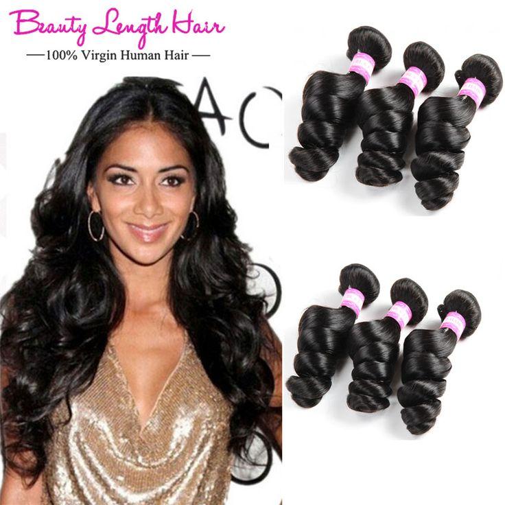 $15.30 (Buy here: https://alitems.com/g/1e8d114494ebda23ff8b16525dc3e8/?i=5&ulp=https%3A%2F%2Fwww.aliexpress.com%2Fitem%2FQueens-Hair-Products-Brazilian-hair-weaving-Human-Brazilian-Virgin-Remy-Hair-Weft-Loose-Wave-3-Bundles%2F32772789579.html ) Queens Hair Products Brazilian hair weaving Human Brazilian Virgin Remy Hair Weft Loose Wave 3 Bundles Brazilian Hair Weft  for just $15.30