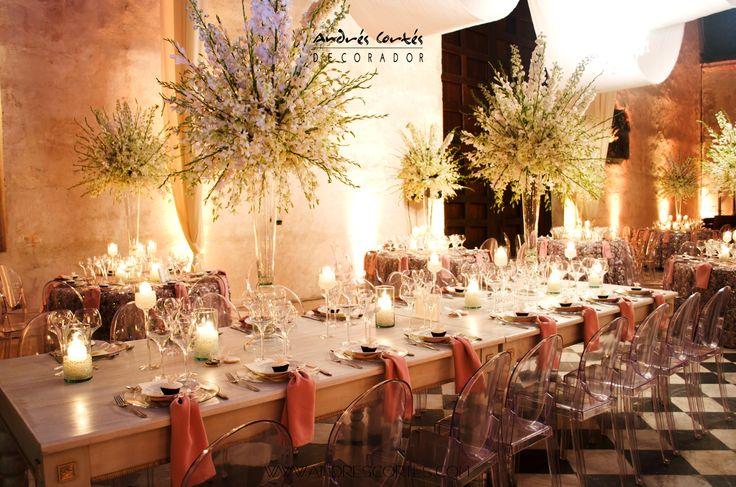 #andrescortes #WeddingIdeas #Weddings #Flowers #Bodas #Centrosdemesas #Orquideas