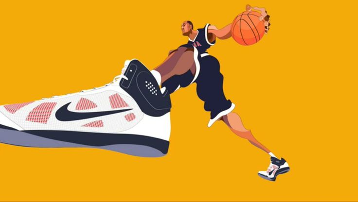 Nike - World Basketball Festival. Working with Nike, Buck directed and produced one 30 sec spot for TV and a plethora of other animated good...