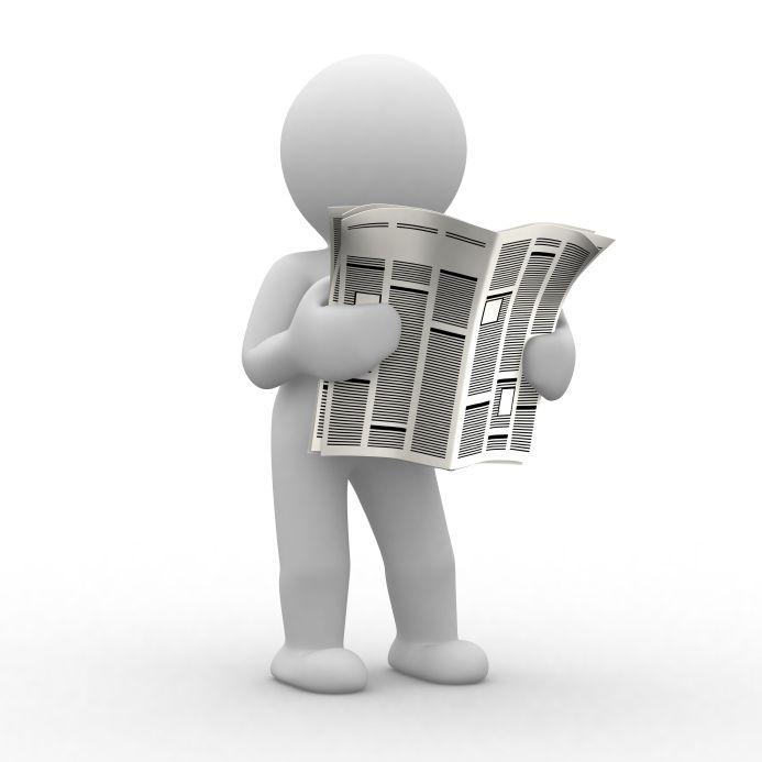 10 best newspaper online images on Pinterest Journalism, Middle - online newspaper template