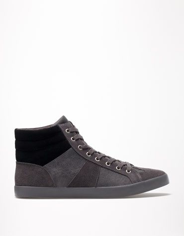 Bershka Turkey - Combined basic ankle boots
