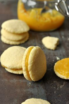 Kókuszos keksz citromkrémmel