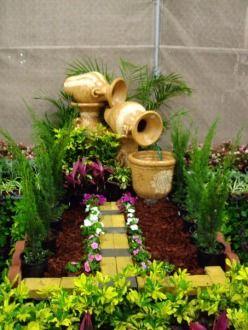 92 mejores im genes sobre fuentes fountains en pinterest for Decoracion de jardines en panama