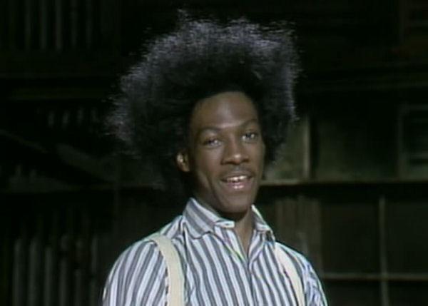 Eddie Murphey was Buckwheat on SNL in the 1980's, Oh Tay!!!
