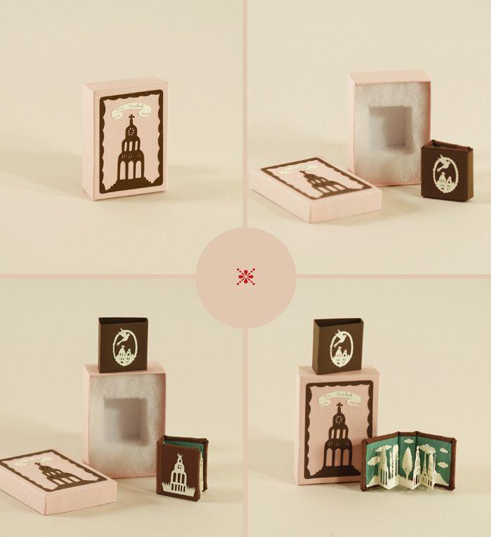 Elsa Mora - miniature artists books - elsita.typepad.com/miniatureartistsbooks