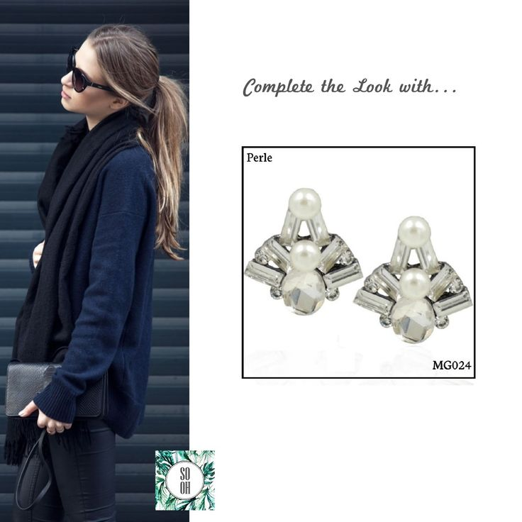 Ref: MG024 Perle  Medidas: 2.3 cm x 2.3 cm  So Oh: 5.99  #sooh_store #onlinestore #style #inspiration #styleinspiration #brincos #earrings #fashion #shoponline #aw2016 #aw1617 #winterstyle