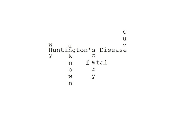 detection of huntingtons chorea essay Trinucleotide repeat disorders: huntington disease  • 1993 huntington disease, sca1, fraxe, drpla/hr  • became interested in hereditary chorea in 1871 • wrote his seminal paper on this disease when he was 22 in 1872 • was a general practitioner - never on a.
