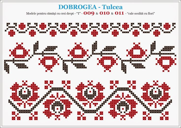 Semne Cusute: modele pentru camasi - DOBROGEA - Tulcea