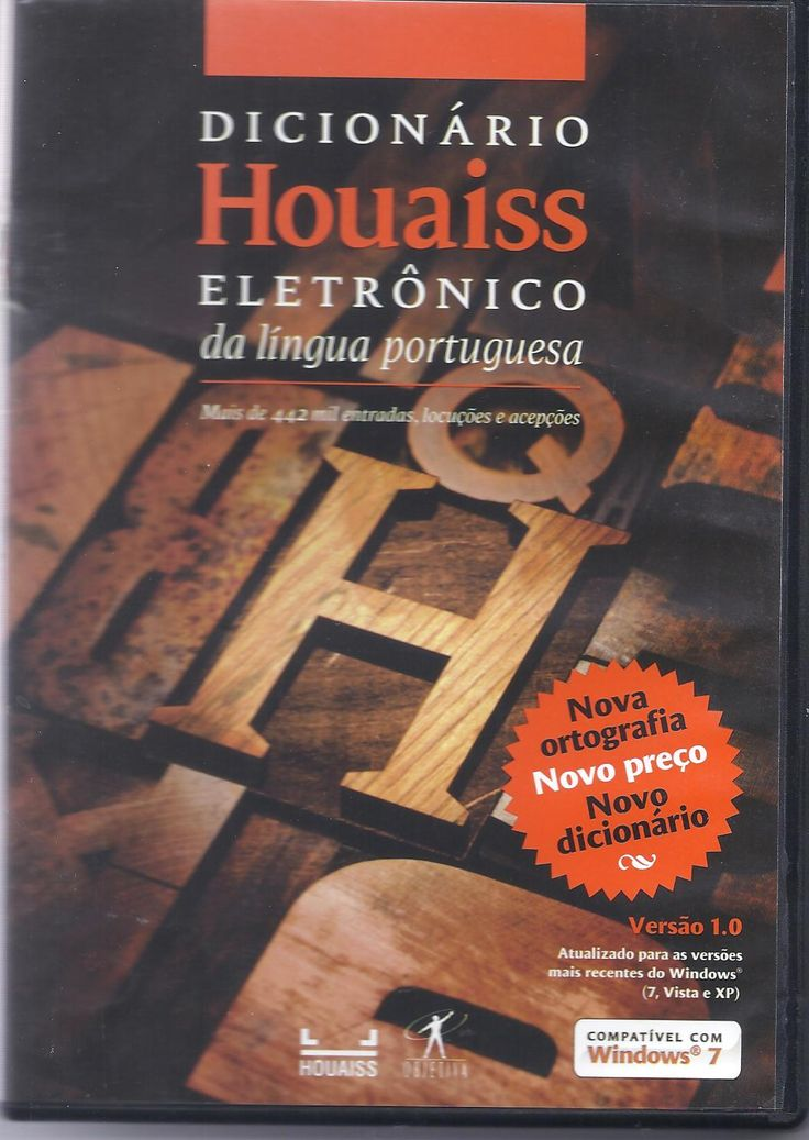 Dicionário eletrônico Houaiss da língua portuguesa [Recurso electrónico]