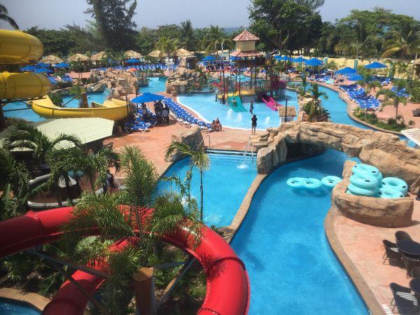 Jewel Lagoon Water Park in Runaway Bay, Jamaica