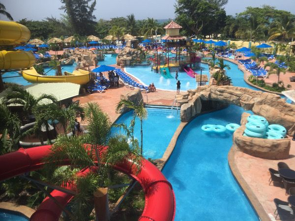 Jewel Lagoon Water Park in Runaway Bay, Jamaica