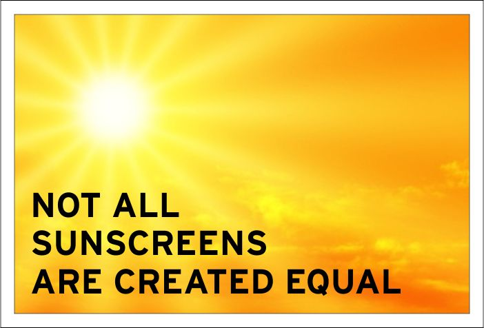 Not all sunscreen is created equal. Everything we slather on absorbs right into our bodies, so it is important to consider the ingredients.