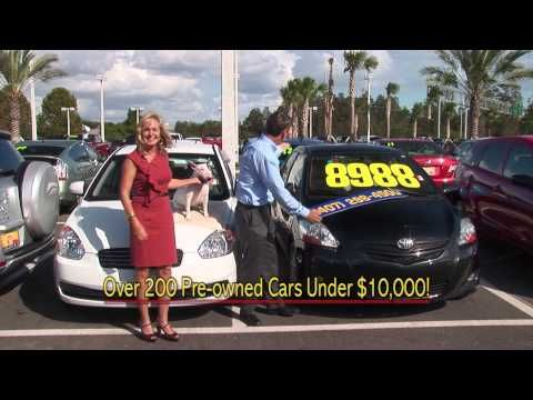 Get cheap used cars in Orlando at our Toyota dealership during the Year End Selldown - you can pick up a used Toyota Matrix, a family-friendly and sporty option, for less than 10K!     http://blog.toyotaoforlando.com/2012/11/our-used-cars-in-orlando-offer-family-friendly-solutions/
