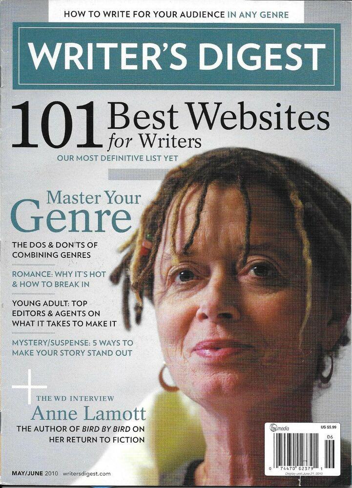 Writers Digest Magazine Anne Lamott Master Your Genre Best