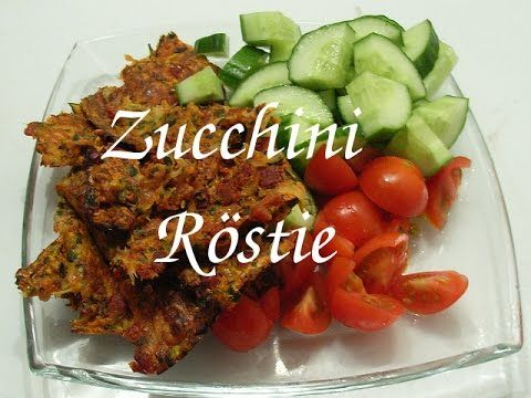 HCG-21-Tage-Diät Zucchini Röstie - Das HCG-Phase-2-Rezept-Kochbuch