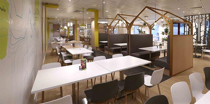 Mobilier restaurant d'entreprise / Travaux restaurants d'entreprise