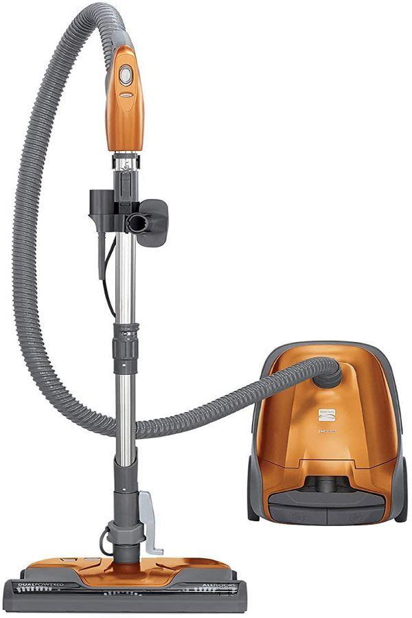 Kenmore 81214 200 Series Pet Friendly Lightweight Bagged Canister Vacuum Cleaner Kenmore Vacuum Vacuum Cleaner Canister Vacuum