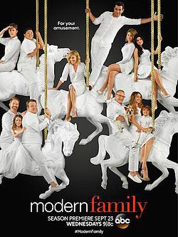 Watch Modern Family - Season 7 online at CafeMovie. Modern Family - Season 7 2015 free streaming. Told from the perspective of an unseen documentary filmmaker, the series offers an honest, often-hilarious perspective of family life. Parents Phil and Claire yearn for an honest, open relationship with their three kids. But a daughter who is trying to grow up too fast, another who is too smart for her own good, and a rambunctious young son make it challenging. Claire's dad, Jay, and his Lati...