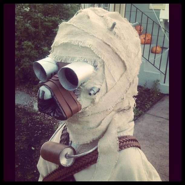 "Community Post: Awesome Homemade ""Star Wars"" Tusken Raider Costume"