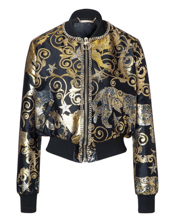 """PHILIPP PLEIN Jacket """"Buffalo"""". #philippplein #cloth #"""