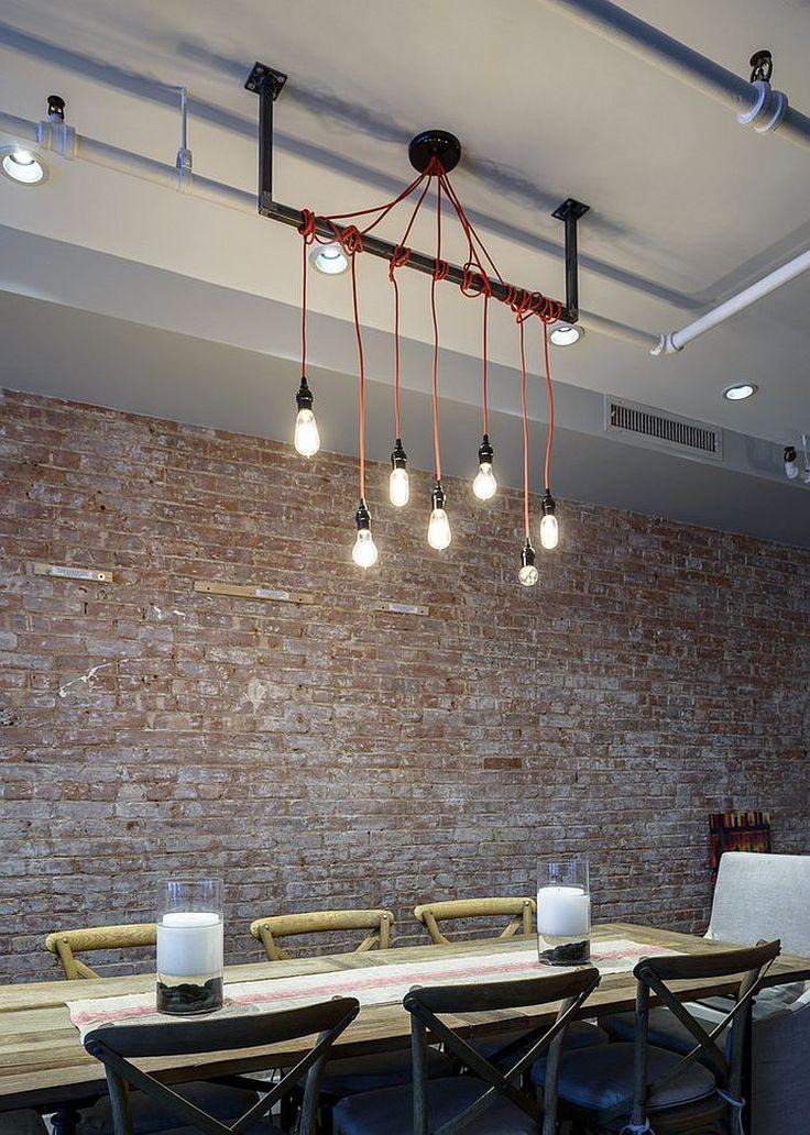 Custom lighting fixture steals the show here [Design: Jane Kim Design]