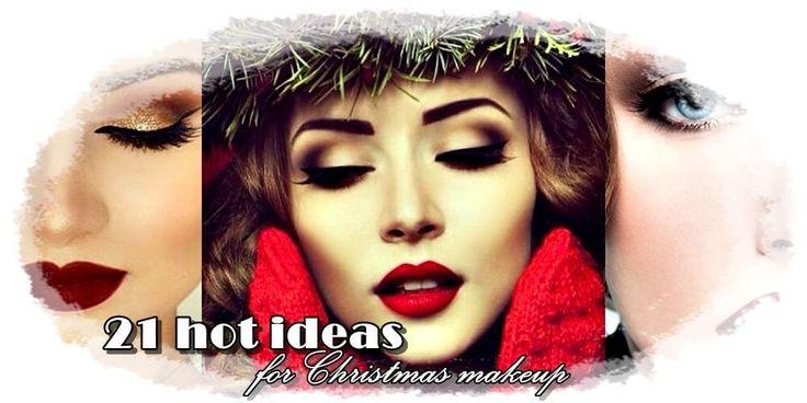 ιδέες για χριστουγεννιάτικο μακιγιάζ