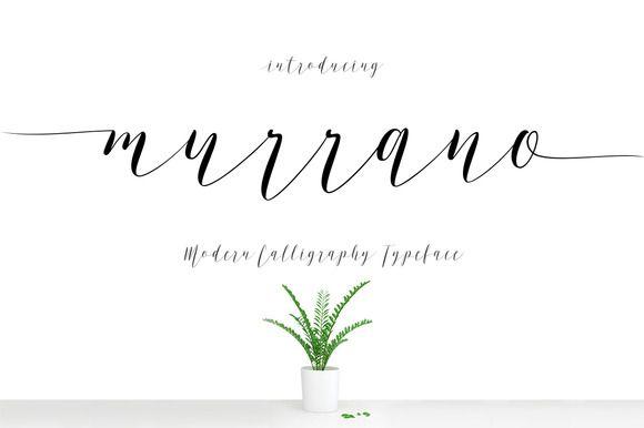 Murrano Script by Decavantona on @creativemarket