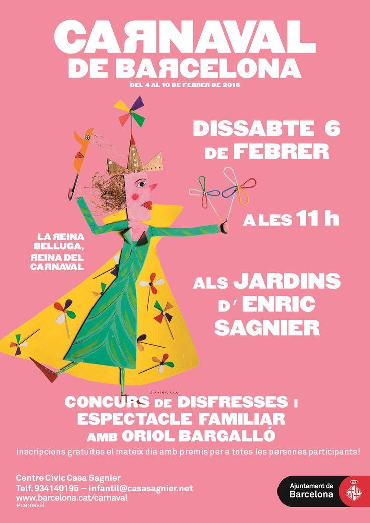Carnestoltes a la Casa Sagnier. Barcelona. Desfilada, ball i premis per als disfressats!