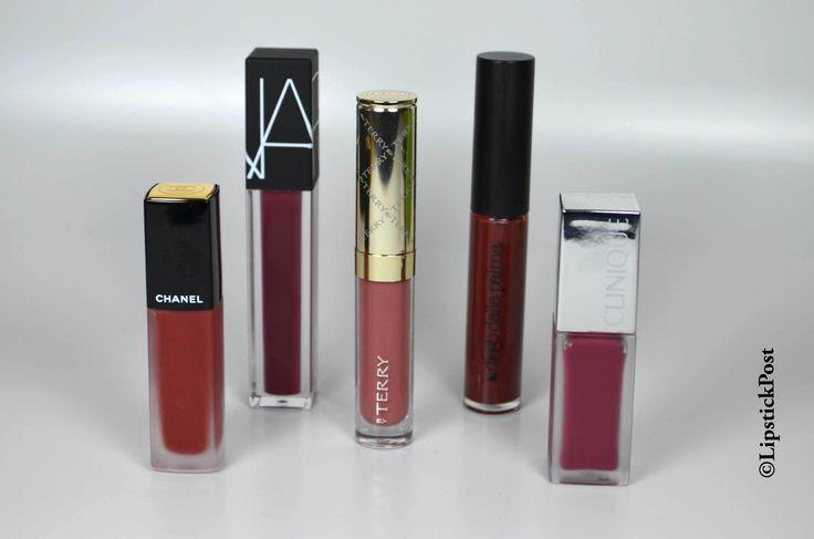 Su #lipstickpost cinque #rossetti #liquidmatte al #bancodiprova