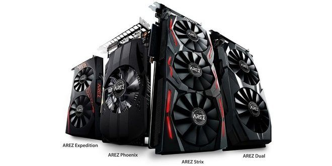 Asus introduces the AREZ Graphics Card brand for AMD cards