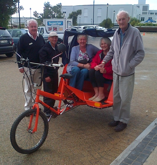 Hermanus Pedal Taxis are on the road!
