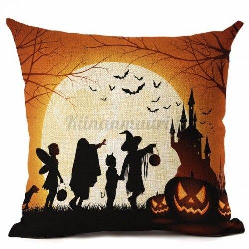 Halloween koristetyynynpäällinen