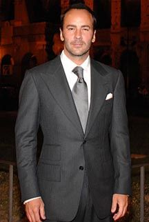 There's something about the way Tom Ford crafts the wide lapels on suits ....pure genius