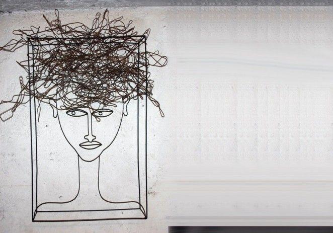 Appena sveglia - Sculture in ferro - Antonino Sciortino