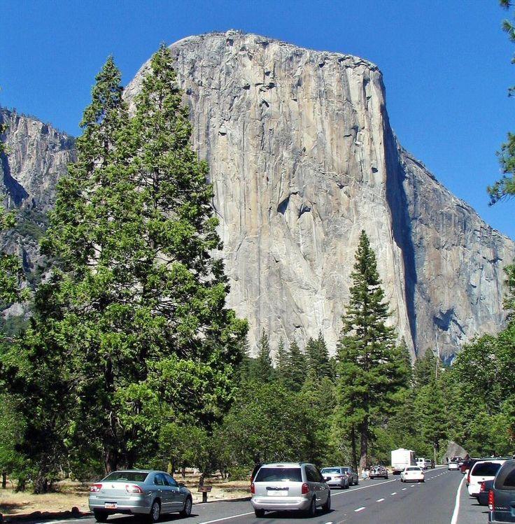 El Capitan en el parque nacional de Yosemite en California