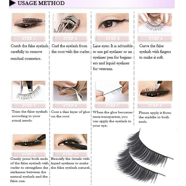 Eyelashes!!! I buy these in bulk!! Don't have to worry about running low