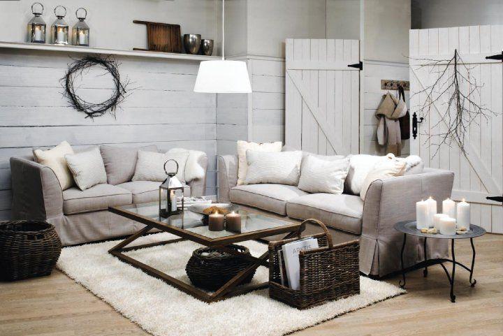 Beautiful Deco Salon Gris Et Beige #12: Salon Blanc - Recherche Google   SALON   Pinterest   Salons And Living Rooms