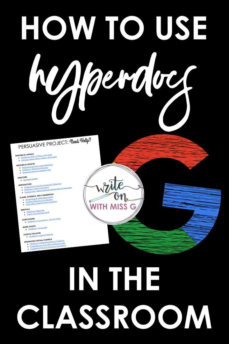 The way to use hyperdocs within the classroom