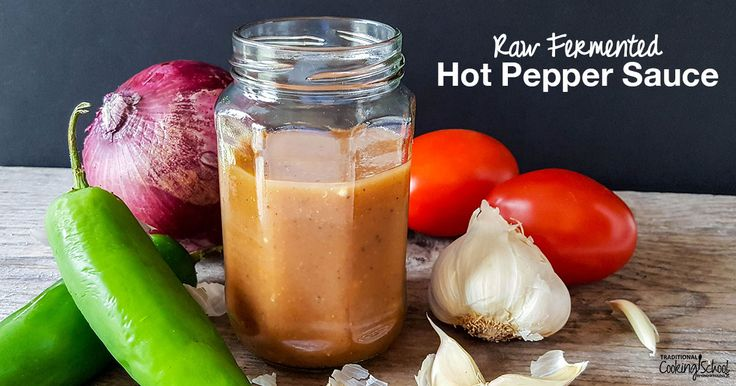With lots of gut-friendly bacteria, try this raw fermented hot pepper sauce on eggs, roasted vegetables, salads, cottage cheese, grilled meat, and more!