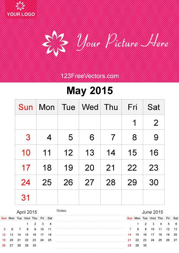 free 2015 calendar templates