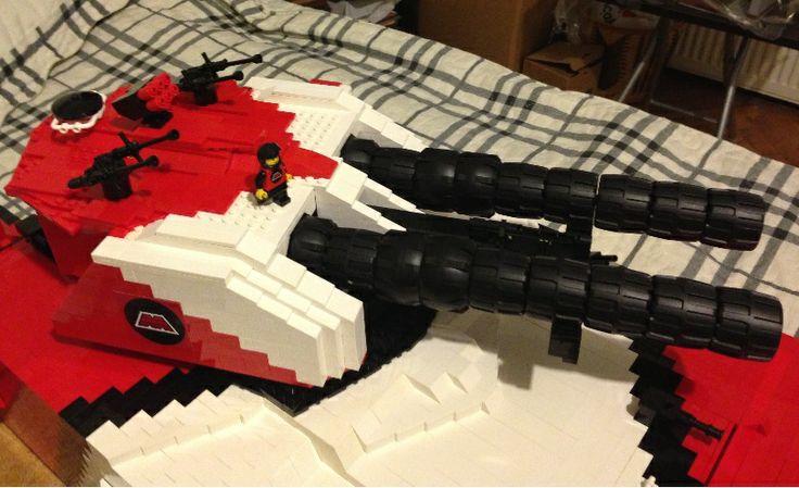 Bricks: Building a Supertank, by Kaplan