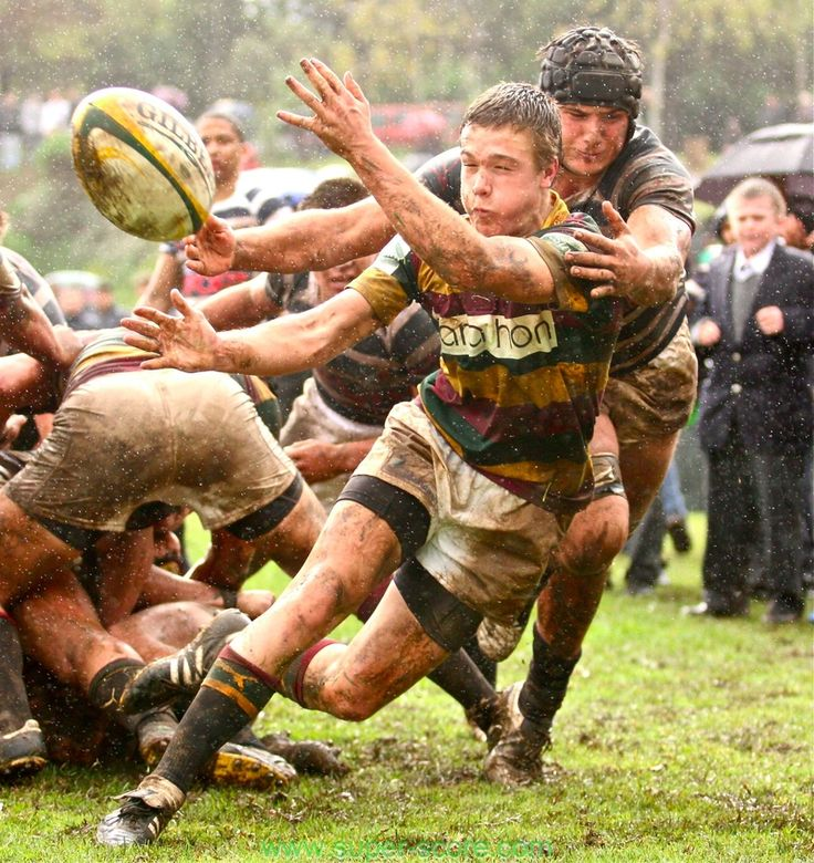 Rainy rugby game. Can't wait to do this.