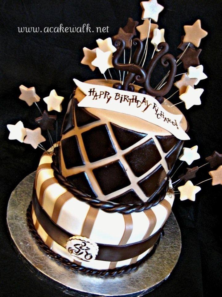 Birthday Cake For Him 40th Male Birthday Cake Ideas Trend Photos Of