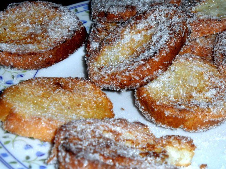 pane fritto con lo zucchero