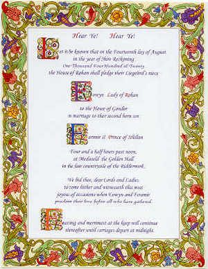17 best images about medieval wedding invites on pinterest for Tudor menu template