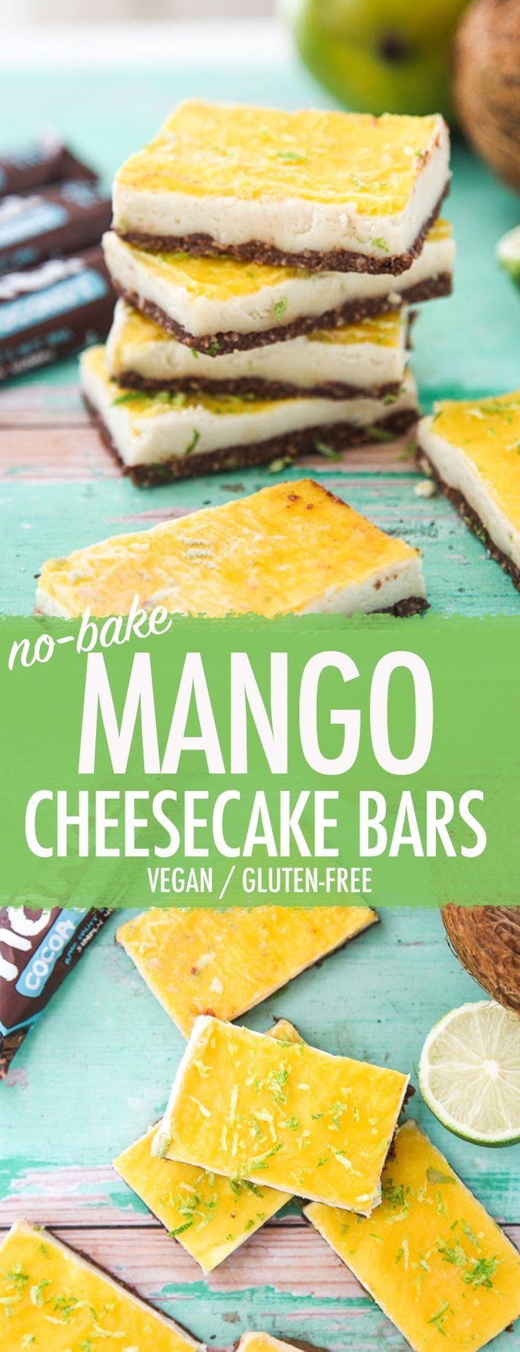 Nakd Mango Cheesecake Bars