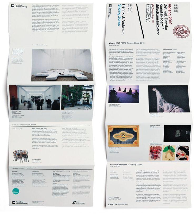 folding brochures - cool that it folds down..