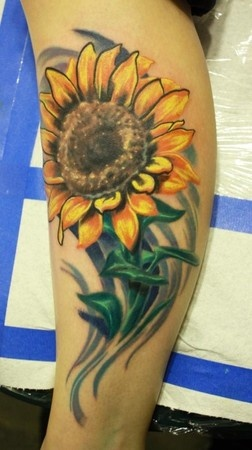 Image detail for -Ty McEwen Tattoo Tattoos Nature Sunflower Part 2