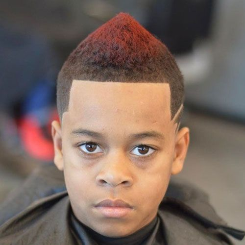 Fade with Line Up and Frohawk