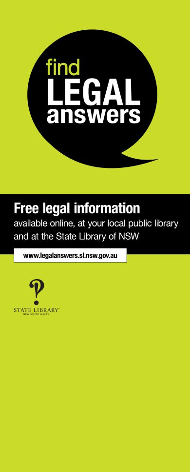 Pull-up banner.  Use this to promote Find Legal Answers at Law Week and at other events during the year.